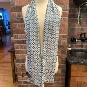 AUTHENTIC COACH scarf !!! Double sided print!